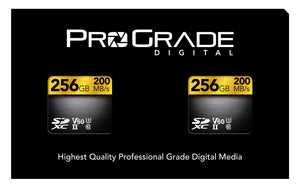 ProGrade Digital SDXC™ UHS-II, V60 Memory Card