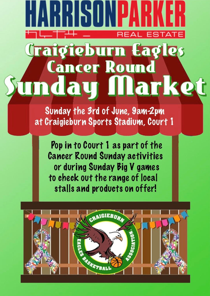 Craigieburn Eagles Cancer Round Sunday Market