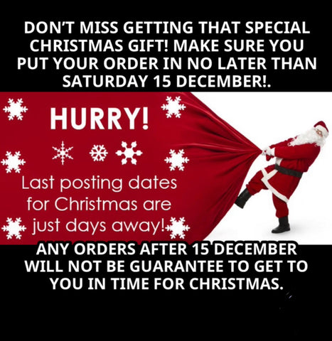 Xmas 2018-last day for orders