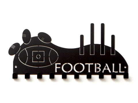 AFL Football Medal Holder - Premium quality sports medal displays by Australian Medal Holders