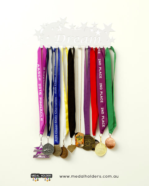 Sports Medal Hangers - Australian Medal Holder - Australia made Dream medal display