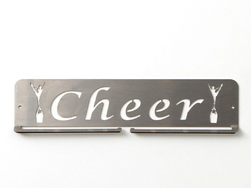 Cheer Medal Holder - Premium quality sports medal displays by Australian Medal Holders - Stainless Steel