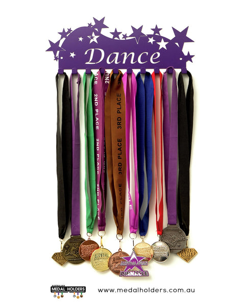 Dance Medal Holder - Premium Quality Dance medal displays by Australian Medal Holders