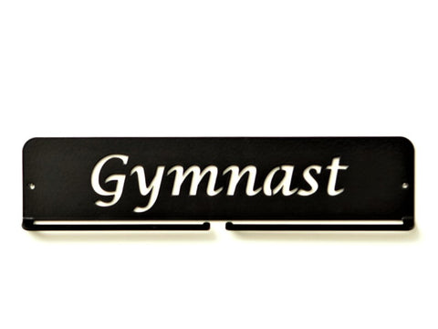 Gymanst Medal Holder - Black Premium quality Gymnast medal displays by Australian Medal Holders