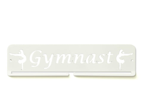 Gymanst Medal Holder - White Premium quality Gymnast medal displays by Australian Medal Holders
