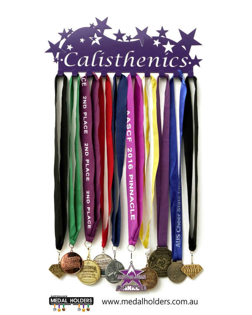 Calisthenics Medal Holder - Premium quality calisthenics medal displays by Australian Medal Holders