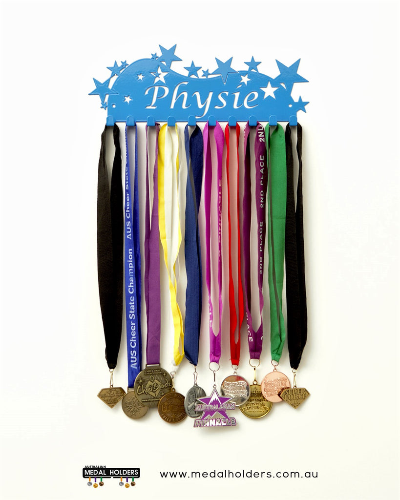Physie Medal Holder - Premium quality sports medal displays by Australian Medal Holders