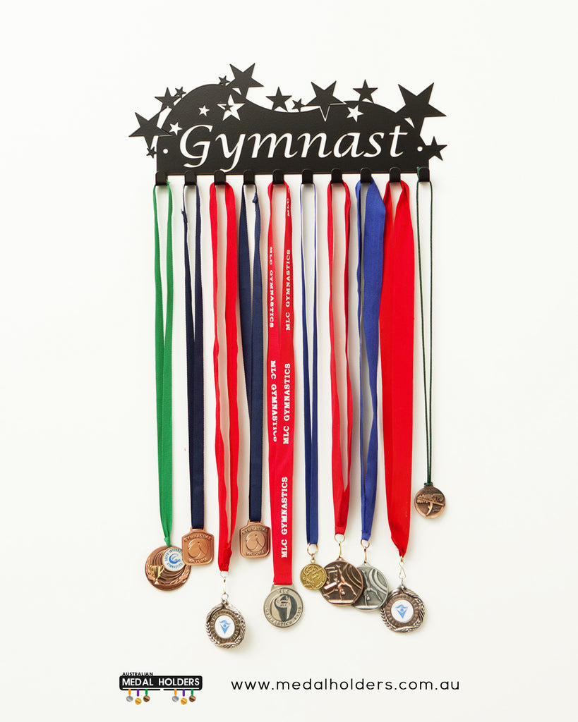 Gymnast Medal Holder - Premium quality sports medal displays by Australian Medal Holders