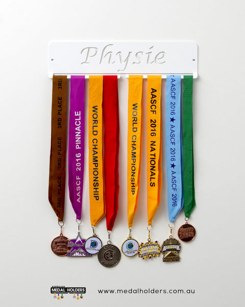 Physie Medal Holder - Australian Hangers - Premium quality Physie rectangle medal displays by Australian Medal Holders