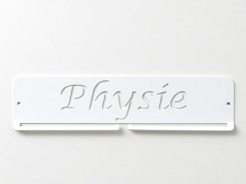 Physie Medal Holder - White Premium quality Physie medal displays by Australian Medal Holders