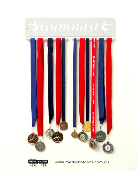 Gymnast Medal Holder - Australian Hangers - Premium quality gymnast rectangle medal displays by Australian Medal Holders