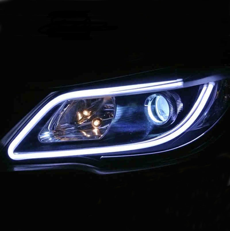 Universal flowing led car light strips reviews aloadofball Gallery
