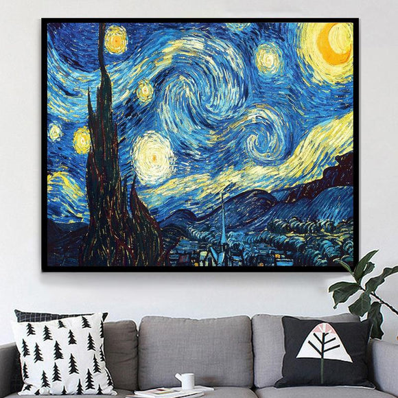 Starry Night Diamond Painting