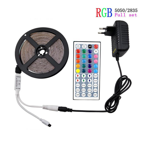 LED Strip Lights Kit with 24 key Remote Controller
