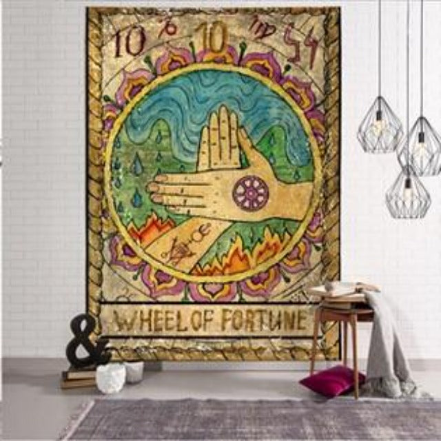 Vintage Fortune Tapestry