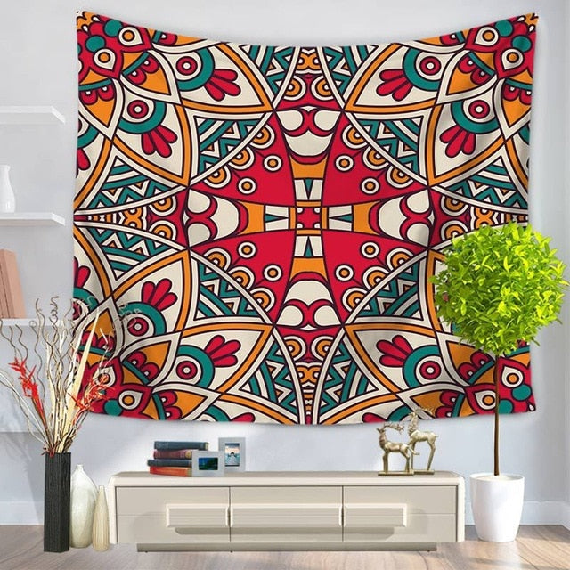 Mexican Patterned Tapestry