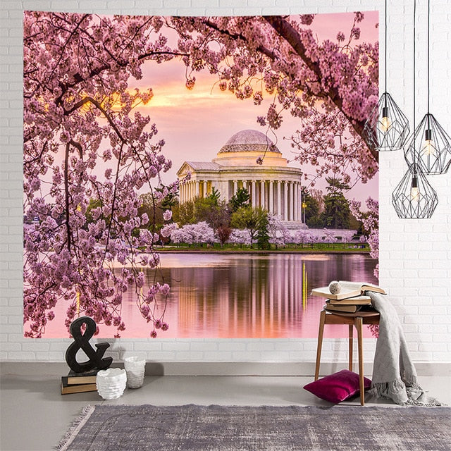 Cute Pink Tapestry