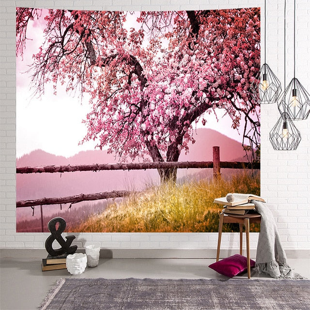 Japanese Tree Tapestry