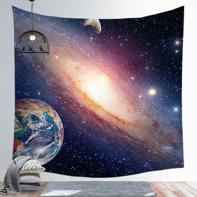 Space Galaxy Tapestry
