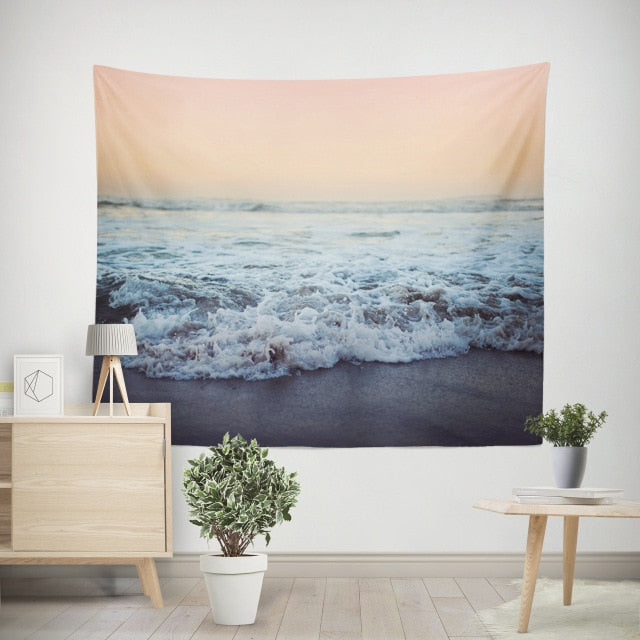 Waves Tapestry