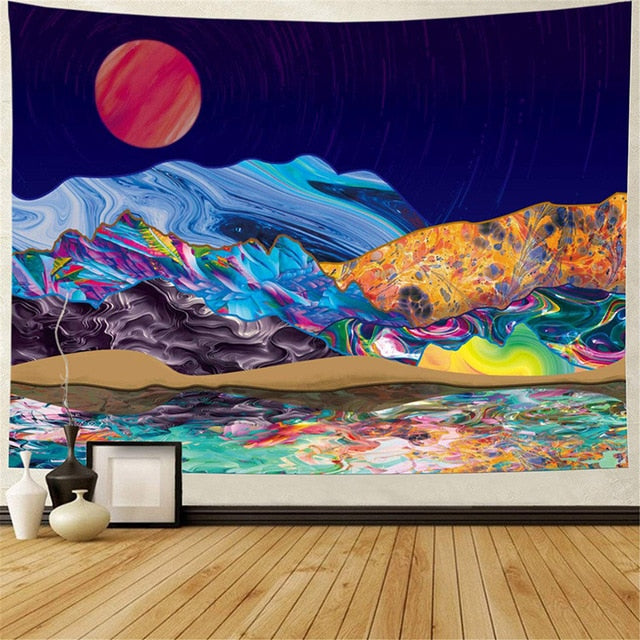 Color Echo Tapestry