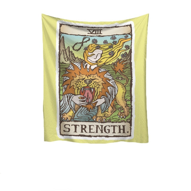 Strength Medieval Tapestry