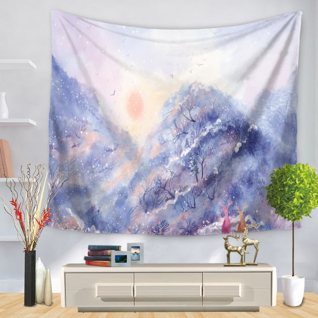 Arctic Forest Tapestry