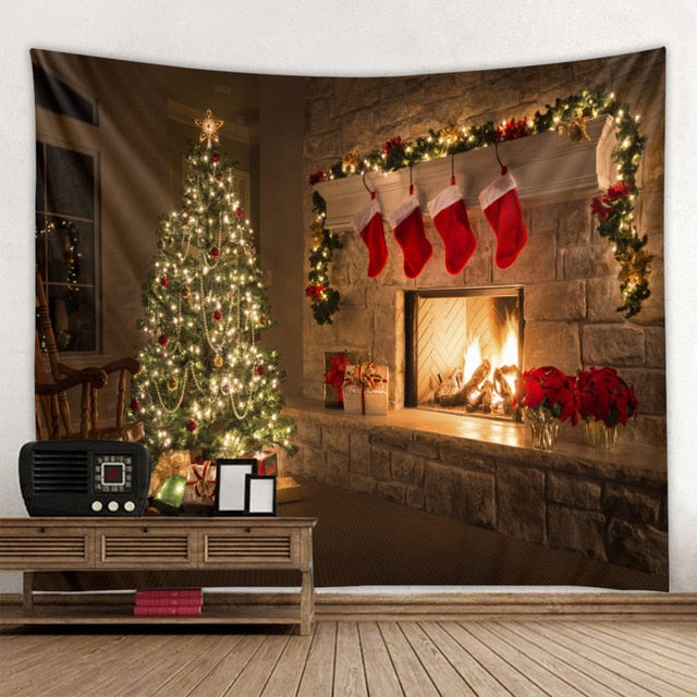 Magic of Christmas Tapestry