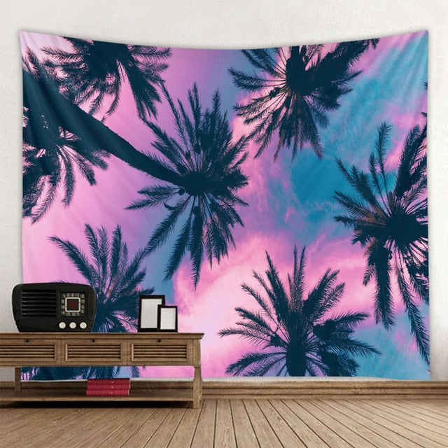 Tropic Pastel Tapestry