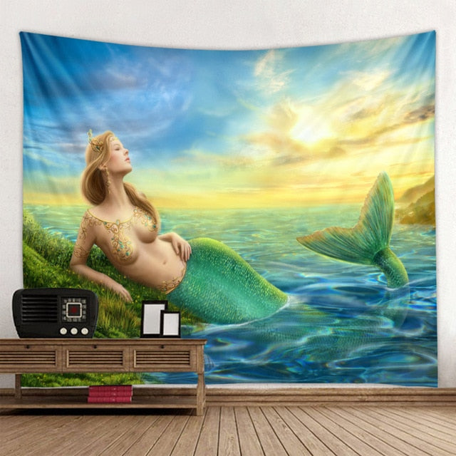 Mermaid at the Sea Tapestry