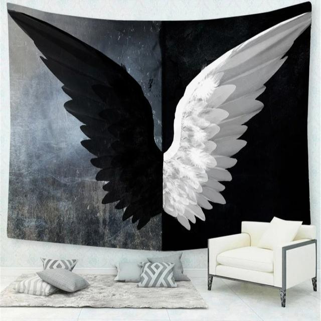 Wings Wall Tapestry