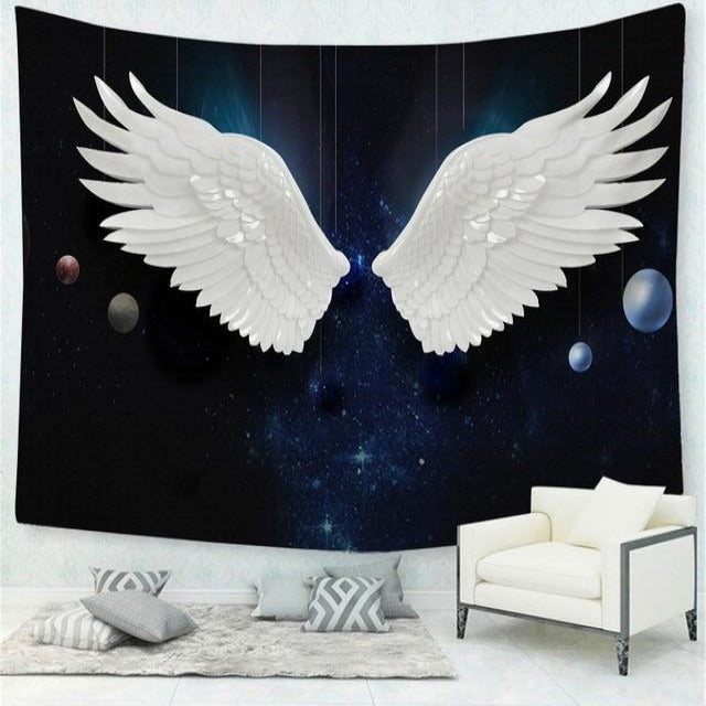 Angel Wing Tapestry