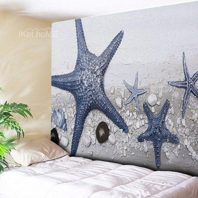 Hippie Starfish Tapestry