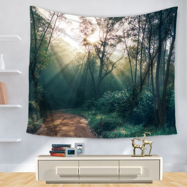 Sunshine Forest Tapestry