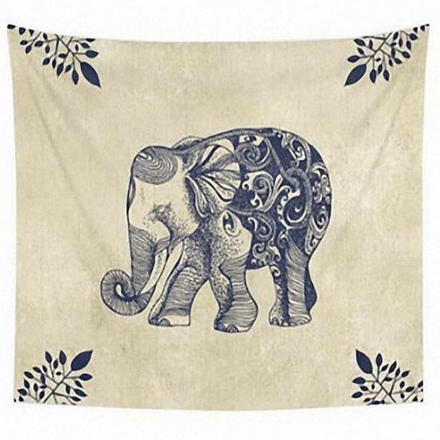 Cute Elephant Tapestry