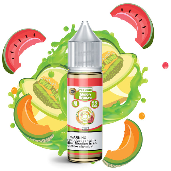 Melon Breeze (15ML) - Pod Juice