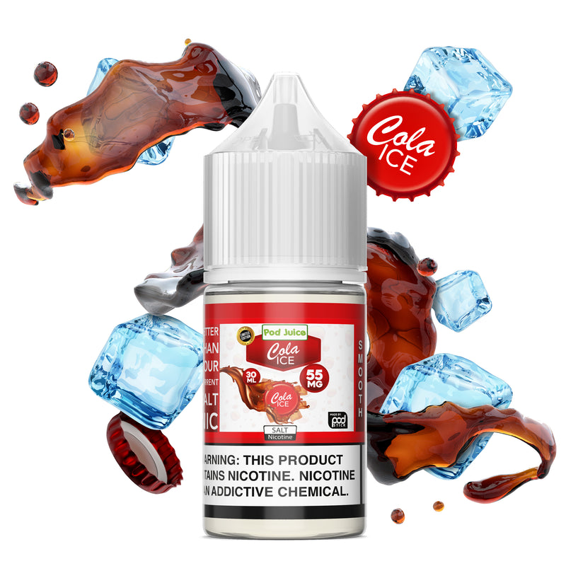 Cola Ice Salt Nicotine - Pod Juice