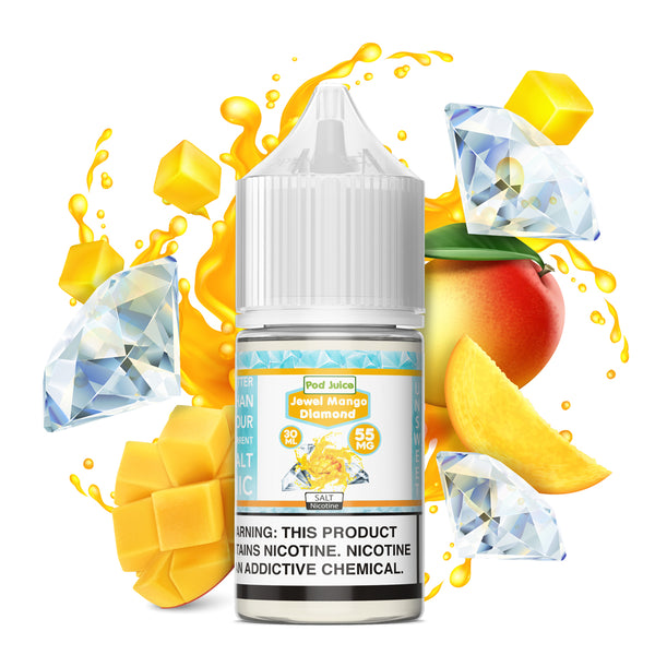 Jewel Mango Diamond (Unsweet) - Pod Juice