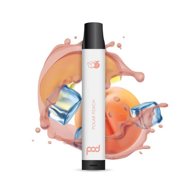 Polar Peach Pod Disposable - Pod Juice