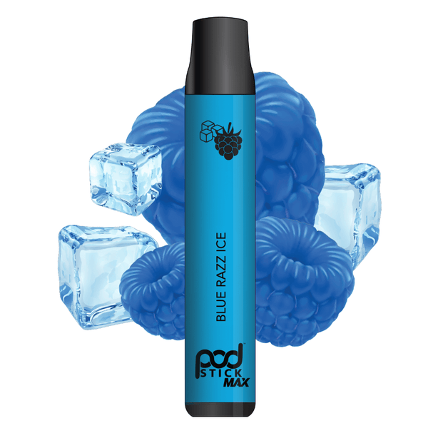 Blue Razz Ice Pod Disposable - Pod Juice
