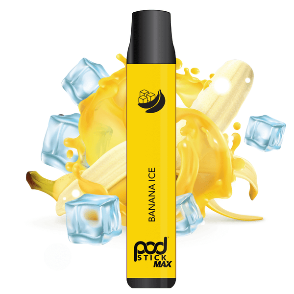 Banana Ice Pod Stick Disposable - Pod Juice