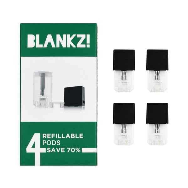 Blankz Empty Compatible Pods - Pod Juice