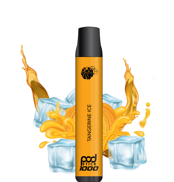 Tangerine Ice Pod Stick 1000 Disposable (Limited Edition) - Pod Juice