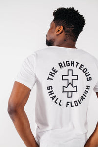 "The Righteous ""Cross+Crown"" Tee"