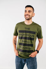 "The Righteous ""Bars"" Tee (Fern Green)"