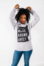 More Abundantly Sweatshirt (Heather Grey)