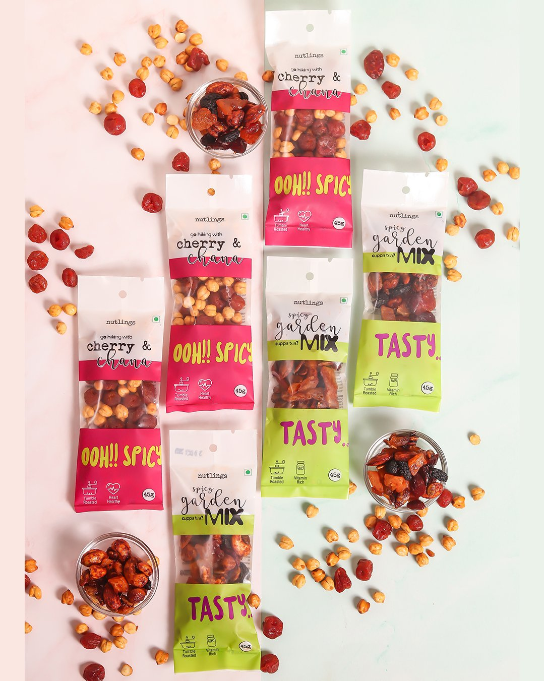 Spicy Nuts & Seeds Box - 6 packs