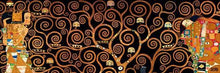 29286_C1_- titled 'Tree Of Life Dark' by artist Gustav Klimt - Wall Art Print on Textured Fine Art Canvas or Paper - Digital Giclee reproduction of art painting. Red Sky Art is India's Online Art Gallery for Home Decor - 43_1750-0143