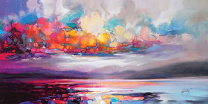 45103_C1 - titled 'Stratocumulus' by artist Scott Naismith - Wall Art Print on Textured Fine Art Canvas or Paper - Digital Giclee reproduction of art painting. Red Sky Art is India's Online Art Gallery for Home Decor - 55_WDC93261
