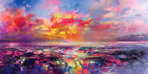 45109_C1 - titled 'Skye Equinox' by artist Scott Naismith - Wall Art Print on Textured Fine Art Canvas or Paper - Digital Giclee reproduction of art painting. Red Sky Art is India's Online Art Gallery for Home Decor - 55_WDC93332